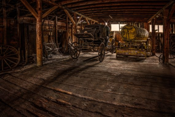 Virginia City wagons