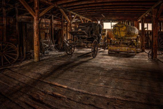 Virginia City wagons