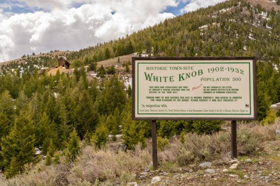 White Knob Idaho – Ghost Town Near Mackay Idaho
